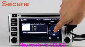 hyundai santa fe bluetooth din radio gps bluetooth dvd player for 2006 2012 hyundai