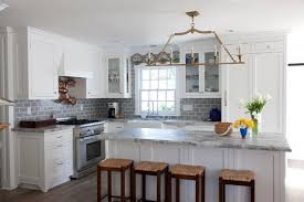 grey kitchen backsplash salty style kitchen san diego by flagg coastal homes