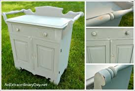 Imperial Home Decor Group Antique Washstand With A Folkart Home Decor Chalk Paint Makeover