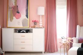 Pink Velvet Curtains Pink Nursery With Pink Velvet Curtains Contemporary Nursery