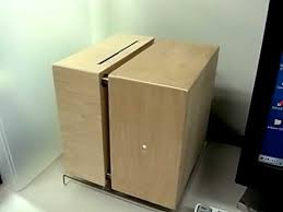 Pc Case Diy Wooden Cube Pc Case Dvd Slot In Youtube