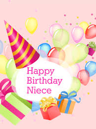 birthday cards for niece charm delight happy birthday card for niece birthday quality
