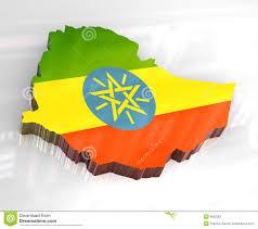 Map Of Ethiopia 3d Flag Map Of Ethiopia Stock Photos Image 6652563