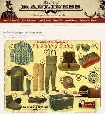outfitted u0026 equipped fly fishing outing the art of manliness