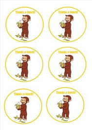 curious george free party printables parties