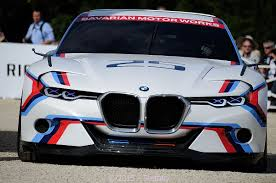 bmw concept csl bmw 3 0 csl hommage r concept debuts in europe