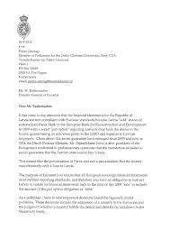 dutch lawmaker u0027s letter to eurostat u2013 full text lawless latvia