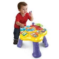 baby standing table toy magic star learning table vtech toys r us