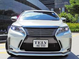 lexus harrier 2013 used toyota harrier car for sale in singapore tely auto credit