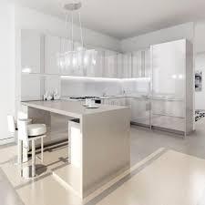 contemporary white kitchen ideas with white gloss kitchen cabinet astonishing white kitchen ideas with glossy cabinet and appealing hanging light fixture white kitchen tiles ideas