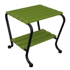 hampton bay belleville patio side table fts80584b the home depot