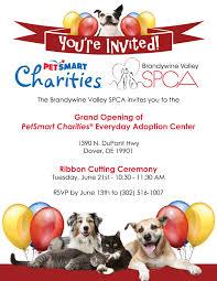ribbon cutting ceremony grand opening of petsmart charities