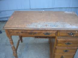 how to refinish a desk sons tween room refinished desk before after home depot center