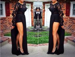 dress prom dress romper skirt removable skirt lace dress
