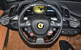 ferrari steering wheel 2014 ferrari 458 spider for sale in norwell ma 198843 mclaren