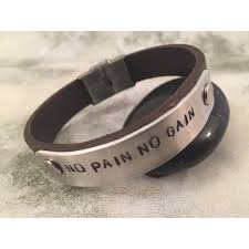mens personalized bracelet mens personalised leather bracelet engraved jewelry papyrus crafts