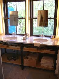 Industrial Bathroom Vanity by Bathroom Organization Diy