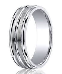 7mm ring argentium silver mens wedding rings comfort fit design