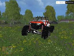 mudding cars mudding rzr 1000xp fs15 v1 0 modhub us