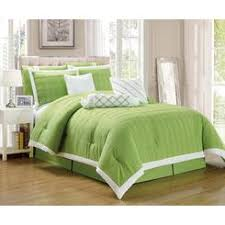 Bright Green Comforter Bed Skirts Dust Ruffles And Bedskirts Sears