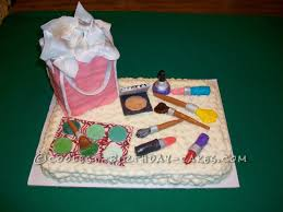 how to make a cake for a girl make up cake for 13 year girl