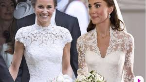kate middleton wedding dress pippa vs kate middleton how the royal wedding compared from