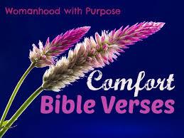 Bible Verse For Comfort 8 Comfort Bible Verses Womanhood With Purpose