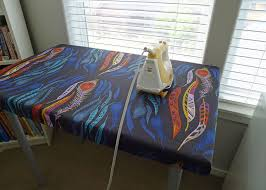 pressing table with removable cover sewing rooms quilting room
