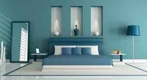 le murale chambre peinture murale chambre bleu canard et différentes teintes du bleu