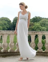 Grecian Wedding Dresses 19 Of The Most Gorgeous Maternity Wedding Dress For Pregnant Brides