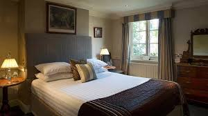 classic bedroom at chilston park
