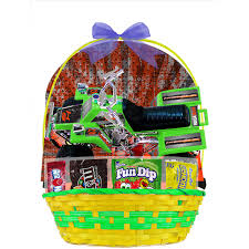 eater baskets easter basket with atv vehicle candies item or color may vary