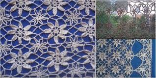 Pattern Window Curtains Lace Curtain In Crochet Lace Free Pattern U0026 Video Stylesidea