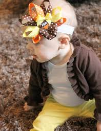 thanksgiving infant headbands turkey headband tutorial mommy u0027s little sunshine