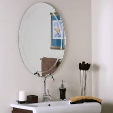 bathroom oval alden modern bathroom vanity mirror ideas by decor