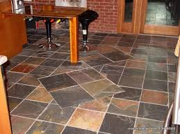 rustic slate kitchen floor by creative marble and tile in rustic