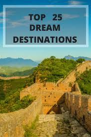 top 25 destinations around the world roarloud