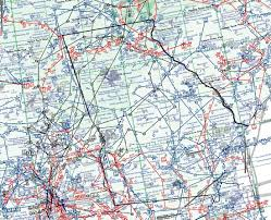 Southeast Us Map Flight Plans For The Southeastern Us For Fsx