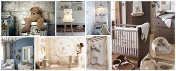 thème chambre bébé deco chambre bebe theme ours visuel 2