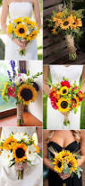 Sunflower Bouquets 40 Super Cool Ideas To Incorporate Sunflowers To Your Wedding