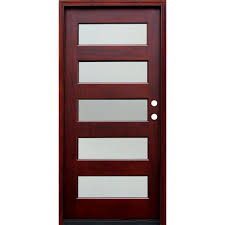Home Depot 6 Panel Interior Door Doors With Glass Wood Doors The Home Depot