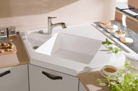 Interior Immaculate Futuristic Home Depot Kitchen Sinks For - Square sinks kitchen