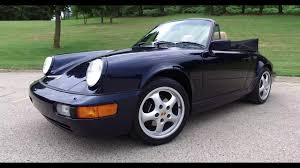 porsche 964 cabriolet for sale for sale 1991 porsche 911 carrera 4 cabriolet youtube