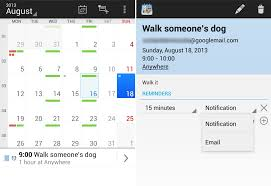 android reminders 12 of the best calendar apps available for your android smartphone