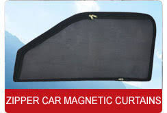 Magnetic Curtains For Car Zipper Magnetic Car Sunshades R K Car Palace Faridabad Id