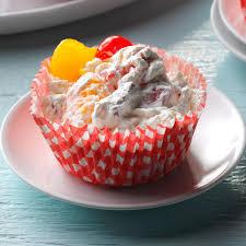 Creamy Frozen Fruit Cups Recipe Taste Of Home