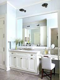 Over Mirror Bathroom Lights by Vanities Light Mirror Vanity Set Showtime Mirror Bathroom Vanity
