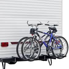 rv or camper trailer bumper bike rack for 1 4 bicycles walmart com