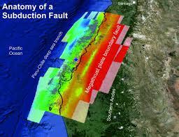 seismic speed bumps found in chile u0027s earthquake zone