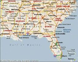 highway map of the united states southeast usa map shell highway map southeastern section of the